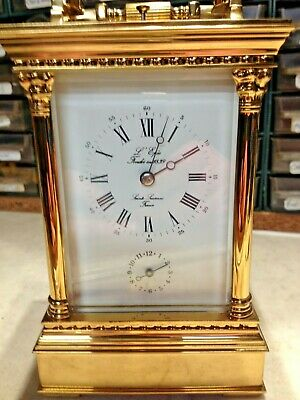 L'Epee MUSICAL CARRIAGE CLOCK /WITH REPEATER / & ALARM
