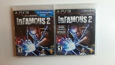 INFAMOUS 2 - SONY PLAYSTATION 3 PS3 GAME - *BRAND NEW SEALED* Move Compatible