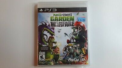Plants Vs Zombies Garden Warfare - Sony PS3 - Brand New Sealed!