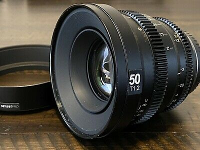 SLR Magic 50mm T1.2 MicroPrime, Fuji X Mount