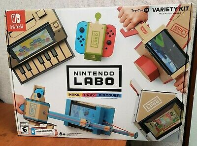 NEW Labo Toy-Con 01: Variety Kit for Nintendo Switch