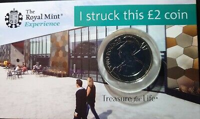 SYO Britannia 2020 £2 Pound Coin. Strike Your Own Coin Royal Mint.