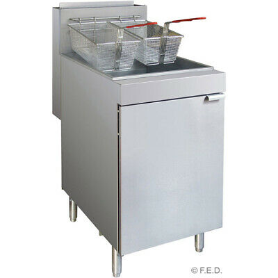 Superfast LPG Gas Tube Fryer 3-Burner for Commercial Catering Use
