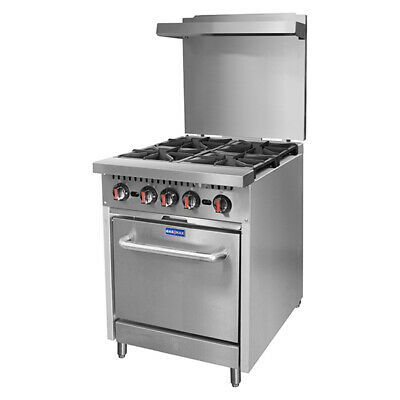 PLPG Gasmax 4 LPG Gas Burners with Oven Flame Failure for Commercial Catering