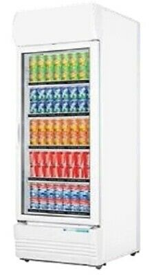 Single Glass Door Colourbond Upright Drink Fridge for Commercial Catering Use