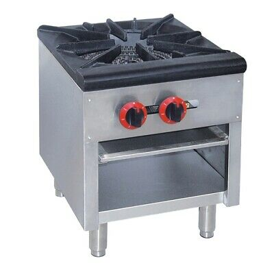 GASMAX Dual Ring Burner Single Hob with Flame Failure for Catering Use