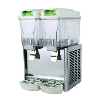 Double Bowl Juice Dispenser for Commercial Catering and Restaurant Use