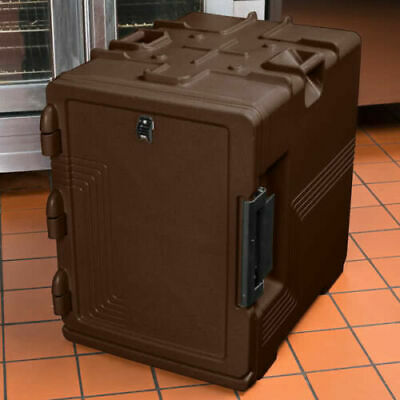 Cambro S-Series Ultra Insulated Food Carrier, Built-In Gasket Dark Brown