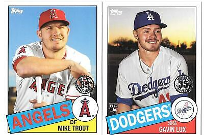 2020 Topps 1985 35th Anniversary Insert  You Pick/Choose the Card