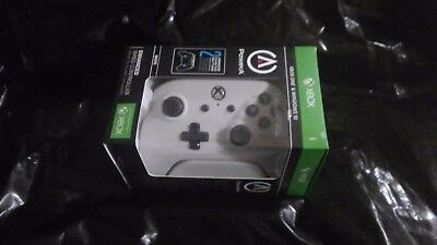 PowerA Xbox One & Windows 10 Enhanced Wired Controller - White