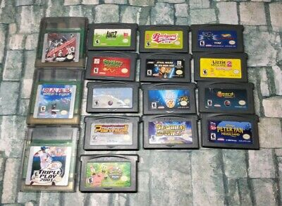 Huge Lot of Nintendo Game Boy Color GBC and Gameboy Advance Video Games GBA (16)