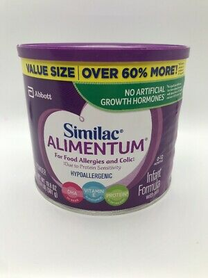 similac alimentum (4) Cans  19.8oz Each