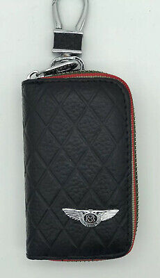 Key Chain Case Red For Bentley
