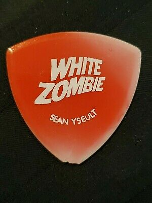 White Zombie (Rob) Concert Tour Guitar Pick (Punk Hard Rock Heavy Metal Band)