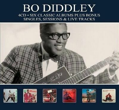 Bo Diddley - 6 Classic Albums Plus New Cd