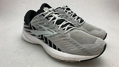Brooks Launch 6 Alloy/Black/Grey Running Shoes Mens 12.5 Wide 2E Extra Wide 🔥🔥