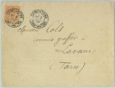 88888 - FRANCE - Postal History -  French stamp on COVER  from ALGERIA 1902
