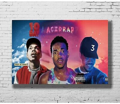 Z-429 Hot Chance The Rapper Acid Rap Custom 8x12inch Poster Print
