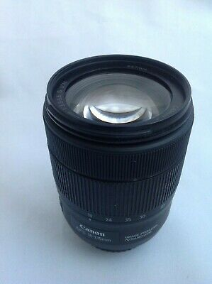 Canon EF-S 18-135mm IS NANO USM zoom lens