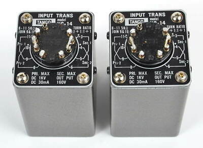 Pair of Hirata Tango NC-14 Interstage Transformers