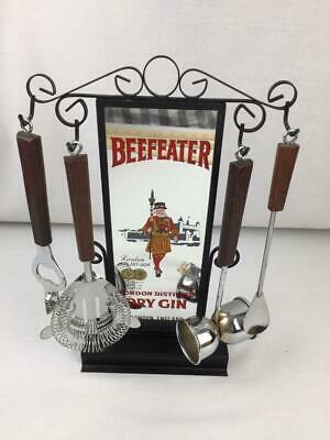 Beefeater Gin Standing Bar Mirror with Tools Display