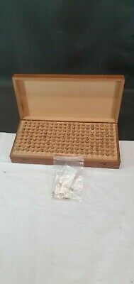 Wood Boxed with 180 Small Glass Corked Specimen Test Tubes