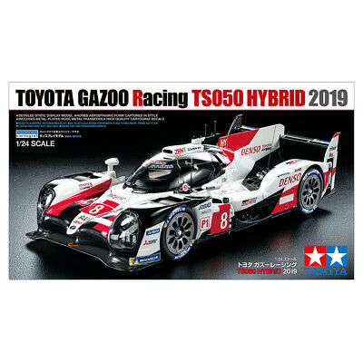 Tamiya Toyota Gazoo Racing TS050 Hybrid 2019 Car Model Kit - Scale 1:24 - 25421