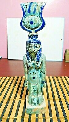 Egyptian Isis Statue Goddess Figurine Ancient Egypt Sculpture