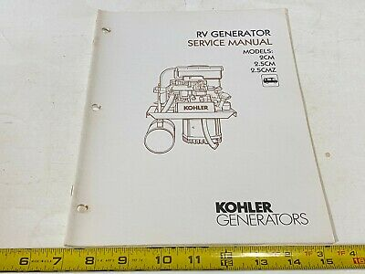 Kohler Engines Service Manual K91,141,161,181,241,301,321,341