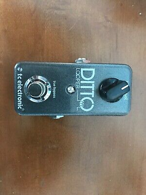 TC Electronic Ditto Looper Guitar Effect Pedal