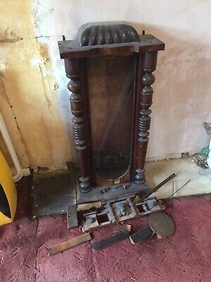 Spares / Repairs clock Case, Pendlum Bits..