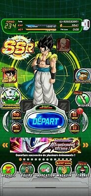Comptes dokkan battle global ANDROID farmed 3600 ds