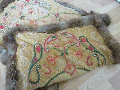 Beautiful Large Arts and Crafts Nouveau Inspired Rug - Throw or Wall Hanging etc