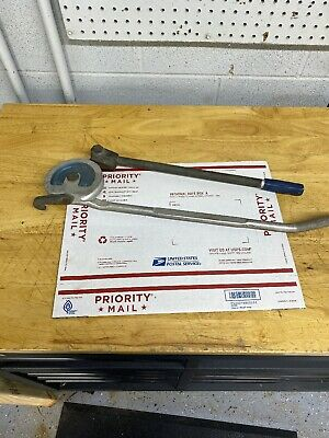 Imperial Eastman 384 FHA 5/8 OD 2 1/4 R Pipe Tube Benders Used Good Condition