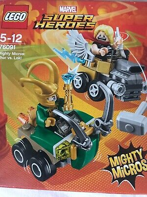 LEGO Marvel Super Heroes 76091 Mighty Micros Thor vs Loki N3//18