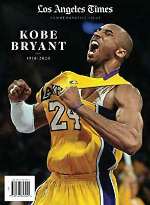 LA Times Kobe Bryant Magazine Commemorative Edition Book  Los Angeles Lakers NEW