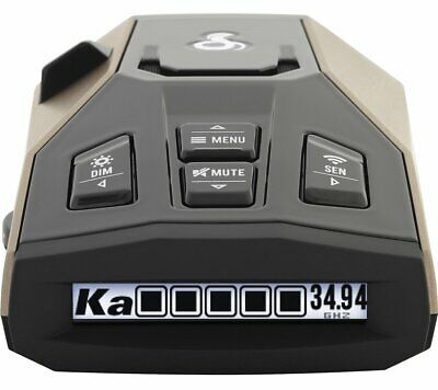 Cobra RAD 450 Laser Radar Detector: Long Range, False Alert Filter, Voice Alert