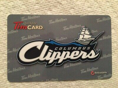 Tim Hortons Columbus Clippers 2013 FD36429 gift card