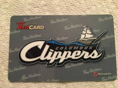 Tim Hortons Columbus Clippers 2014 FD43252 gift card