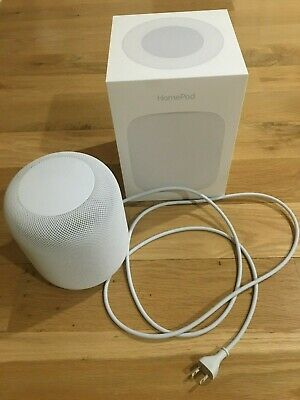 APPLE HOMEPOD Voice Enabled Smart Assistant - White (Original Owner)