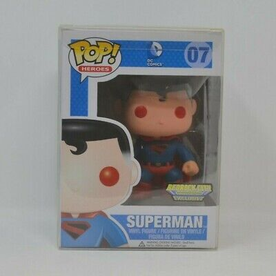 Funko Pop! Kingdom Come Red Eyes Superman 07 DC Heroes Bedrock City Exclusive