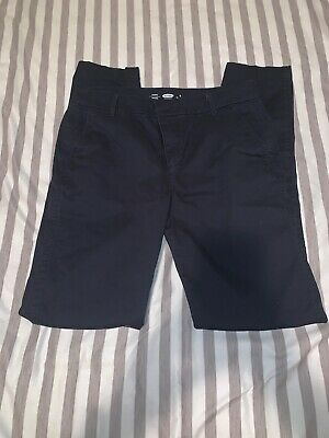 Women's Old Navy Dark Navy Blue Harper Slim Straight Dress Pants NWT Size 8 TALL