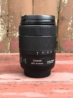 Canon EF S 18-135mm f/3.5 to 5.6 IS USM Standard Zoom Lens