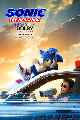 Posters USA - Sonic the Hedgehog 2020 Movie Poster Glossy Finish - PRM568
