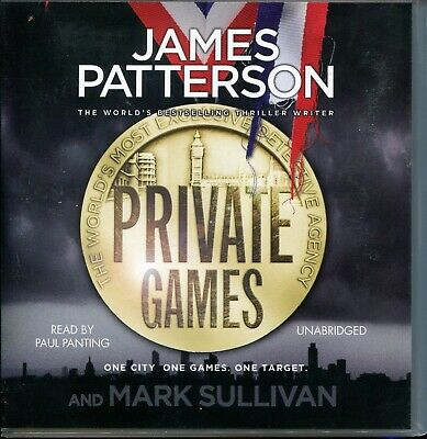 James Patterson / Private Games - 8CD Audiobook