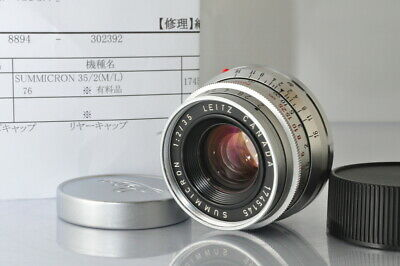 [EXCELLENT]Leica Leitz Summicron 35mm F/2 8-Element Canada Lens for Leica M