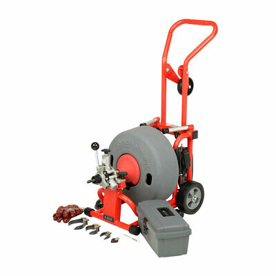 "Ridgid 93557 K-6200 Drum Machine with 5/8"" x 100' Cable"