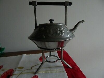 arts and crafts christopher dresser style teapot very decorative
