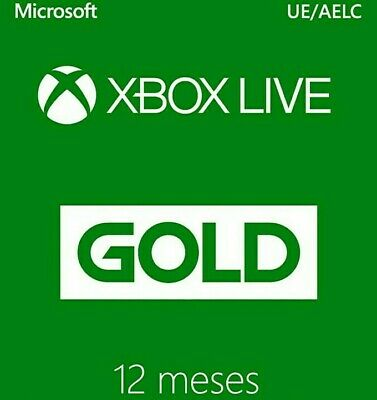 Xbox live gold 1 año NO CODIGO LEED DESCRIPCION REGION FREE