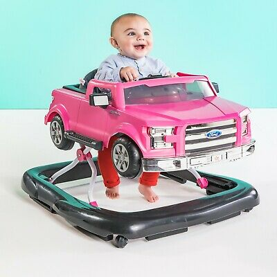PINK *DISTRESSED BRIGHT STARTS 3 WAYS TO PLAY FOR F150 BABY WALKER